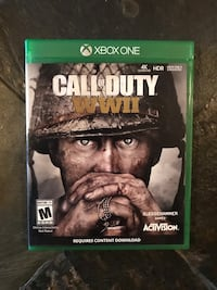 Xbox One Game Call of Duty WW2 Springfield, 22153