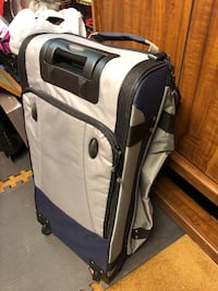white and black luggage bag Springfield, 22150