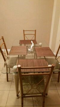 Dinette glass topped w 4 chairs Orlando, 32837