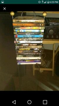 assorted DVD movie case lot Texas City, 77590