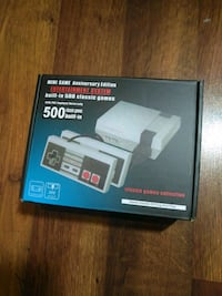 Video game system 500 games included