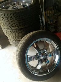 20 inch rims & new tires  Midland, 79701