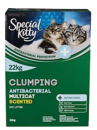 Special Kitty Clumping Antibacterial Multicat Cat Litter, scented Brampton, L6V 4K9