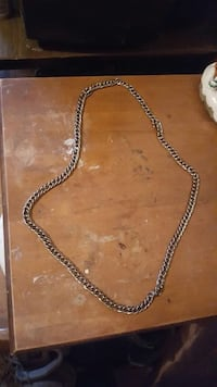 silver chain link necklace Norfolk, 23513