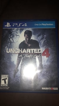 Uncharted 4 ps4  Riverside, 92503
