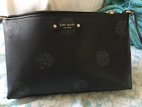 Black kate spade leather crossbody Sacramento, 95834