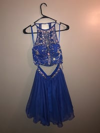 blue two piece Hoco Dress Lincoln, 68521