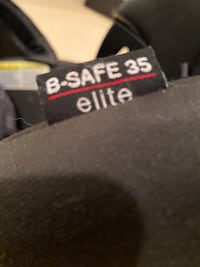 Britex B-Safe elite car seat with two bases