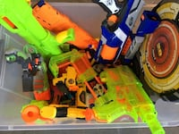 NERF guns plus bullets Purcellville, 20132