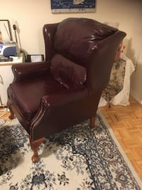 Leather Wingback Chair Toronto, M9P 2K8