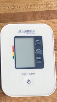 Life Source blood pressure machine London, N5V