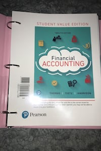 Pearson's Financial Accounting