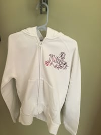 Girls size 8 Nike Snow White zip hoodie Centreville, 20120