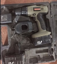 Craftsman 15.6 drill w/charger and case works great Virginia Beach, 23451