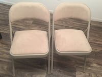 Foldable cushioned chairs - Set of 2 Malvern, 19355