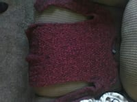 knitted red sweater Mahanoy City, 17948