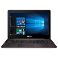ASUS VivoBook notebook Brown 2.5 GHz 6th gen Intel® Core™ i7 i7-6500U Toronto