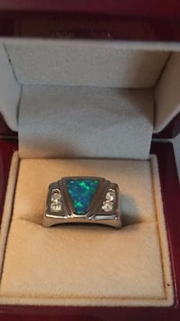 Ladies ring sterling silver size 8