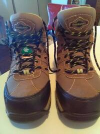 Steel toe boots size 7