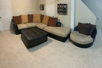 Beautiful Suede Sectional  Stafford, 22556