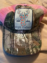 Pink and camp SnapBack hat