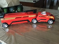 Hot wheels cargo truck for hot wheel collection cars-$10 Toronto, M6R 1Z8
