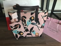 Kate spade new reversible tote and wallet ( 2 piece) with tags  Toronto, M1M 2G2