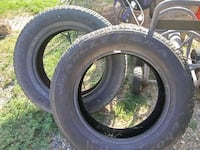 p205/60/20  goodyear wrangler tires. Half tread Grand Junction, 81504
