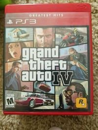 Grand Theft Auto IV Xbox 360 game case Walker, 70785