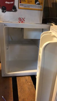 black and white compact refrigerator Rochester, 14613
