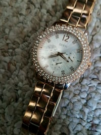 Gold womans Guess watch Calgary