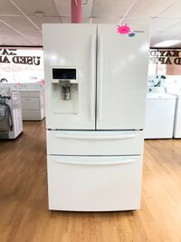 Samsung white French door refrigerator  Woodbridge, 22191