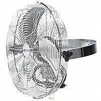 "Air Circulator , Commercial , Ceiling, Wall, 18"" Blade Dia 2966 CFM High 3 Speed. Chicago"