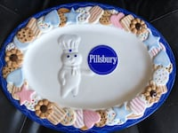 Danbury Mint Pillsbury Dough Cookie Platter Kapolei