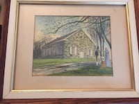 Great Conawago Presbyterian vintage picture church in Hunterstown Pa Harrisburg, 17110