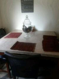 Marble tall dinning room table with 6 chairs  Chula Vista, 91911