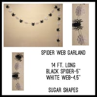 New Custom LONG Spider Web Decor Farmers Branch, 75244