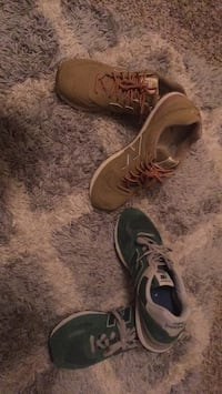 Shoes only come in pair 2 size 10 and 1/2 Omaha, 68124