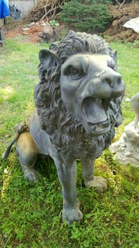 Brass lion pair East Moriches, 11940