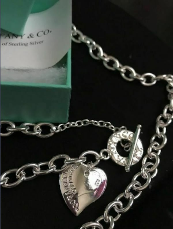 """REDUCED"" . BIRTHDAY GIFT? 925 SILVER NECKLACE & BRACELET SET 8e1d510f-fb47-49fc-8505-b11b8da7f340"