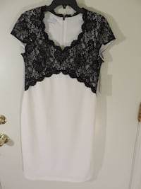 women's black and white floral dress Louisville