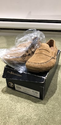 Polo Ralph Lauren Moccasin Loafer Suede, Size 11.5 Washington, 20005