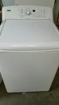 white top-load clothes washer Tulsa, 74133