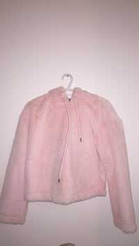 pink fluffy hoodie Lethbridge, T1H 5X4