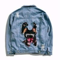 Givenchy dog jacket denim Lake Ridge, 22192