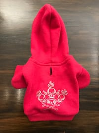 Zack & Zoey Crowned Crossbone Dog Hoodie, XX-Small, 6-Inch Mississauga, L5A 3B2
