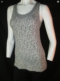 Lululemon 4 Tone it Up tank top petite fleur ruched sides
