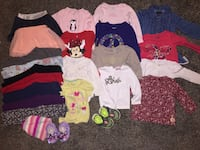 Size 2T girl clothes lot  Coeur d'Alene, 83814