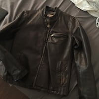 A&F Leather Jacket (M) Los Angeles, 91602