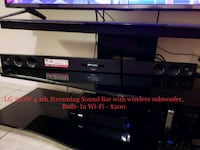 black and gray TV stand Pembroke Pines, 33025